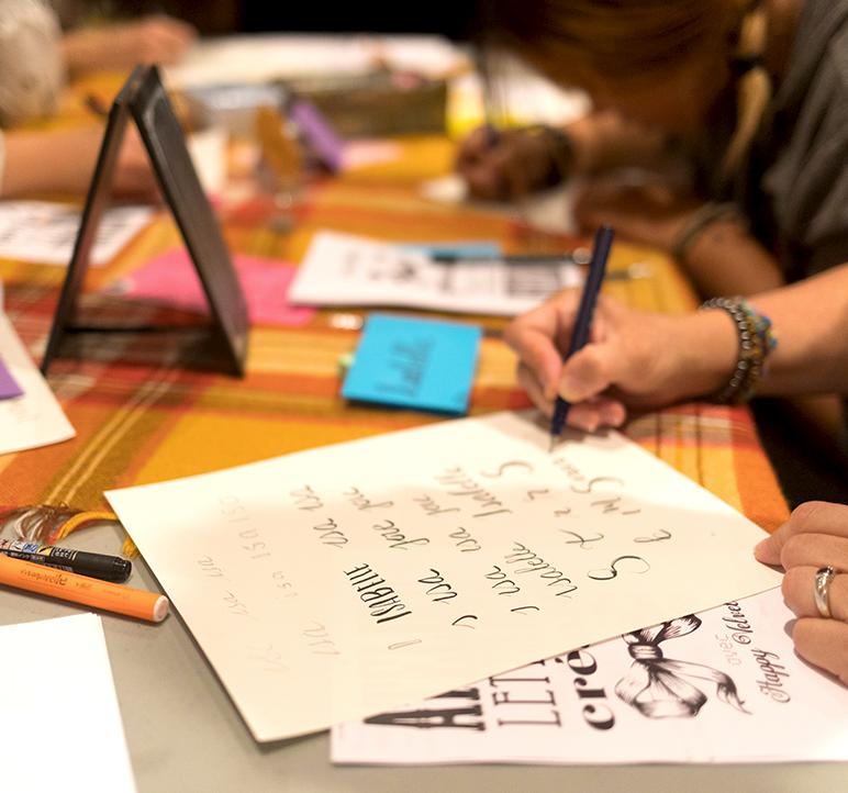 atelier lettering montpellier